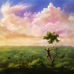 Bilbo trepa a un árbol en el Bosque Negro, según Corbin Hunter