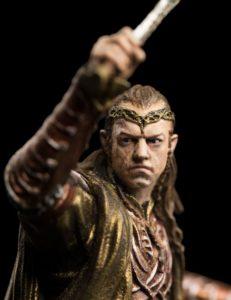 Figura de Elrond del diorama de Dol Guldur de Weta Workshop