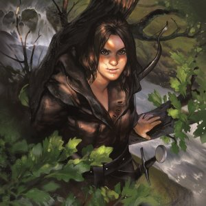 Dúnedain en el Vado de Sarn, según Amelie Hutt