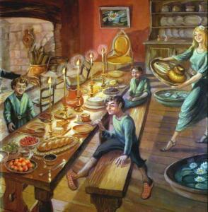 En casa de Tom Bombadil, según Joan Wyatt