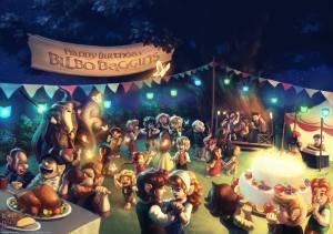La fiesta de Bilbo, según Renato Giacomini