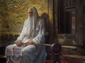 La decisión de Saruman, según Donato Giancola