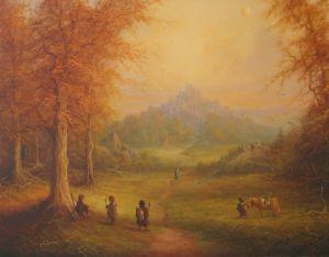Aragorn y los hobbits divisan la Cima de los Vientos, según Joe Gilronan
