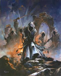 Los Nazgûl en la Cima de los Vientos, según Mark Kelso