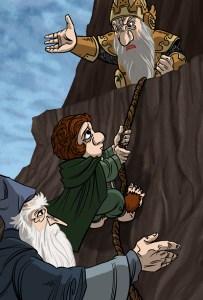 Bilbo expulsa a Thorin de Erebor, según Andrew Dobson