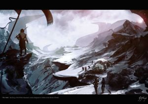 El Rey de las Montañas Blancas jura lealtad a Isildur, según Gianna Michèle Kaye