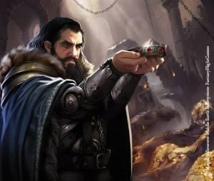Thorin en Erebor, según la artista francesa Magali Villeneuve