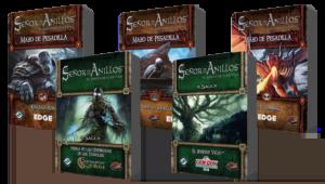 Esge Entertainment pone a la venta cinco nuevos mazos de pesadilla para El Señor de los Anillos: El juego de cartas (LCG)