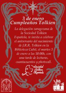 El Smial de Khazad-dûm celebra el cumpleaños de J.R.R. Tolkien