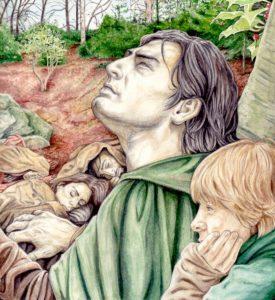 Aragorn y Sam hacen guardia en Eregion, según Peter Xavier Price