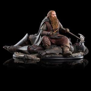 Escultura de Gimli sobre el Uruk 43, de Weta Workshop
