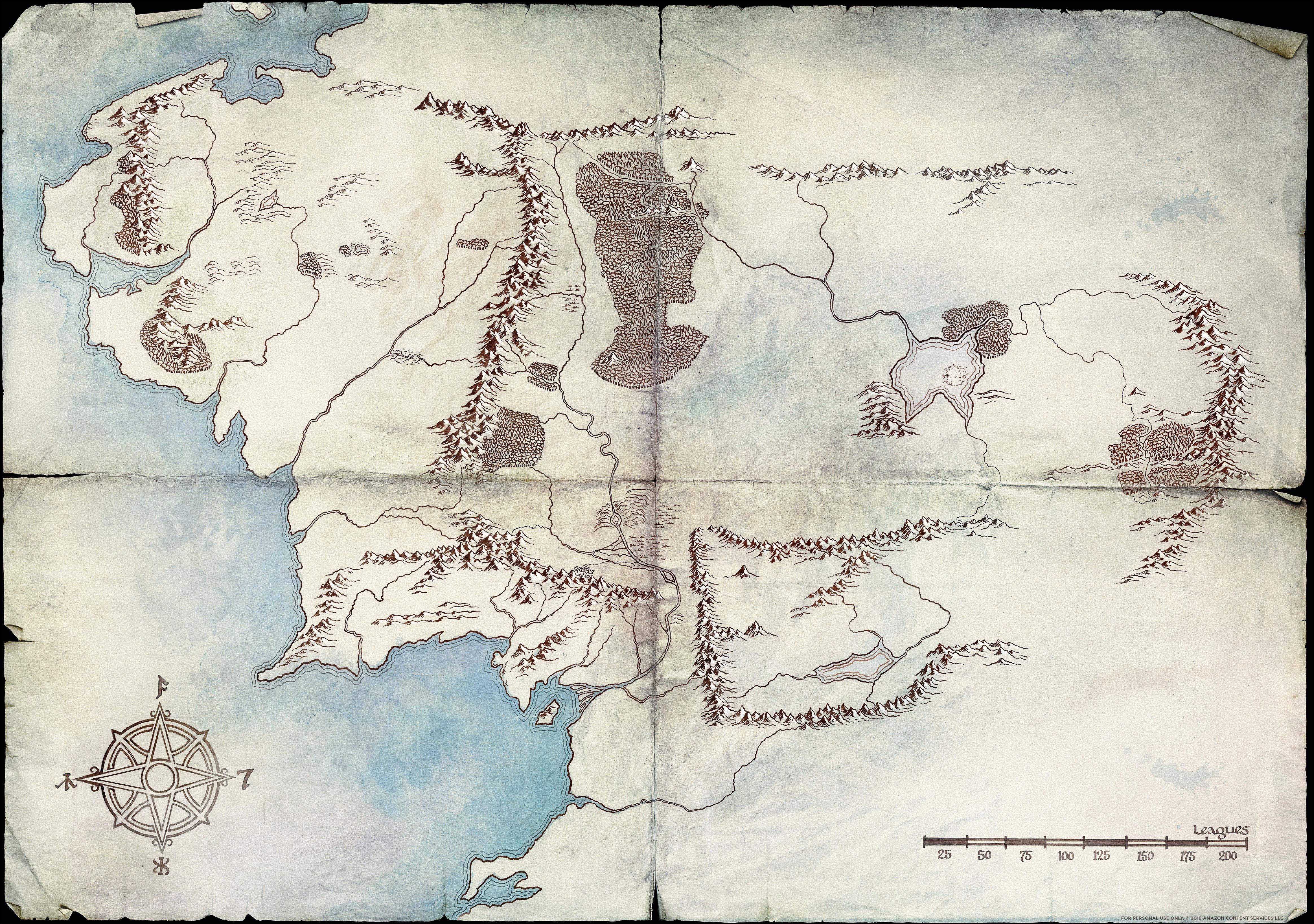 Mapa Tierra Media Detallado.Bienvenidos A La Segunda Edad Analizamos Los Mapas De La