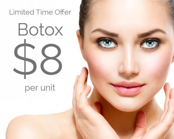 Botox $8 Per Unit