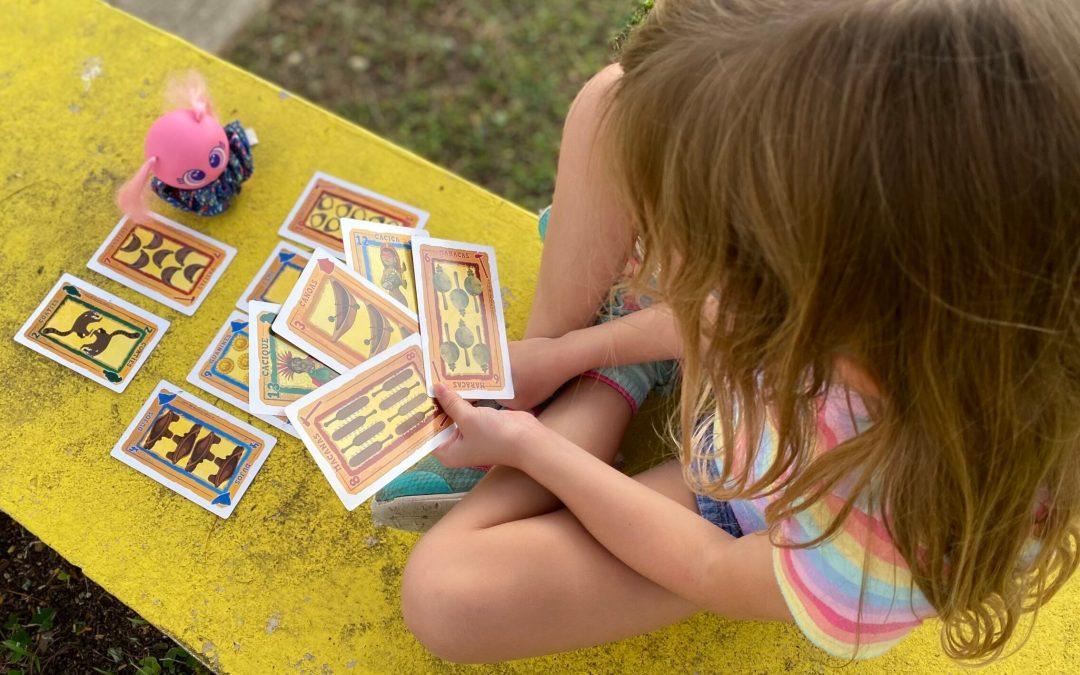 Jugamos con las Cartas Taínas