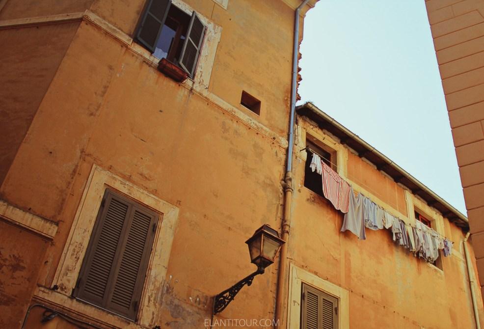 trastevere balcon