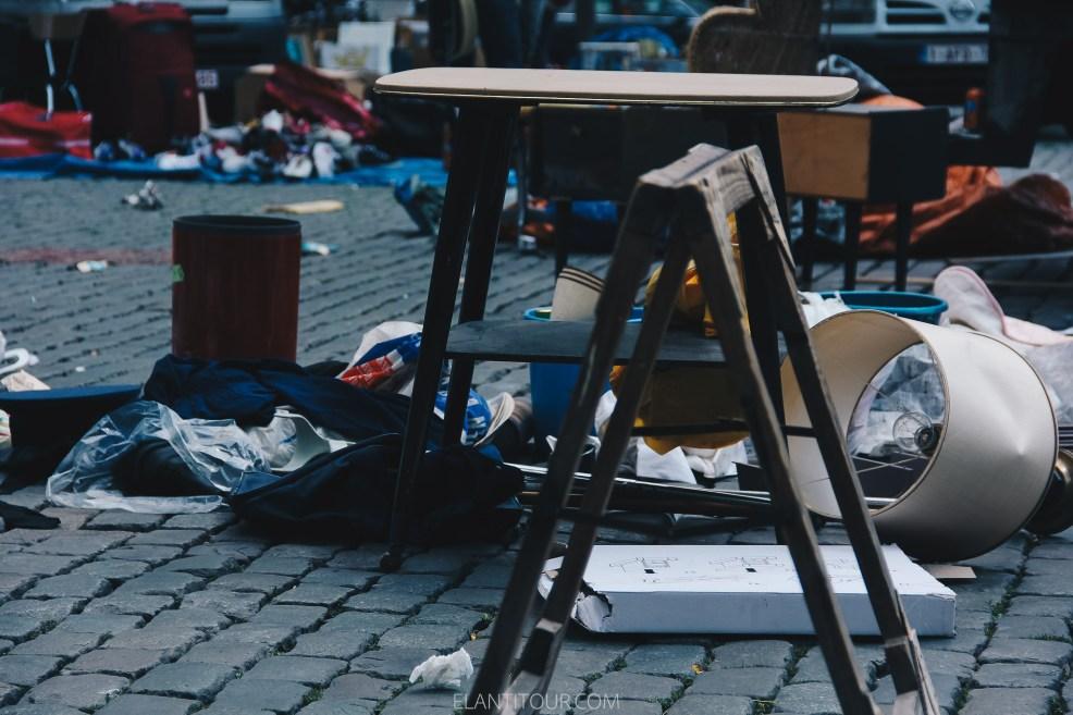 mercado de pulgas bruselas