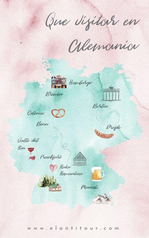 Qué visitar en Alemania