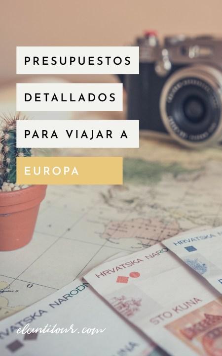 cuanto sale un viaje a europa