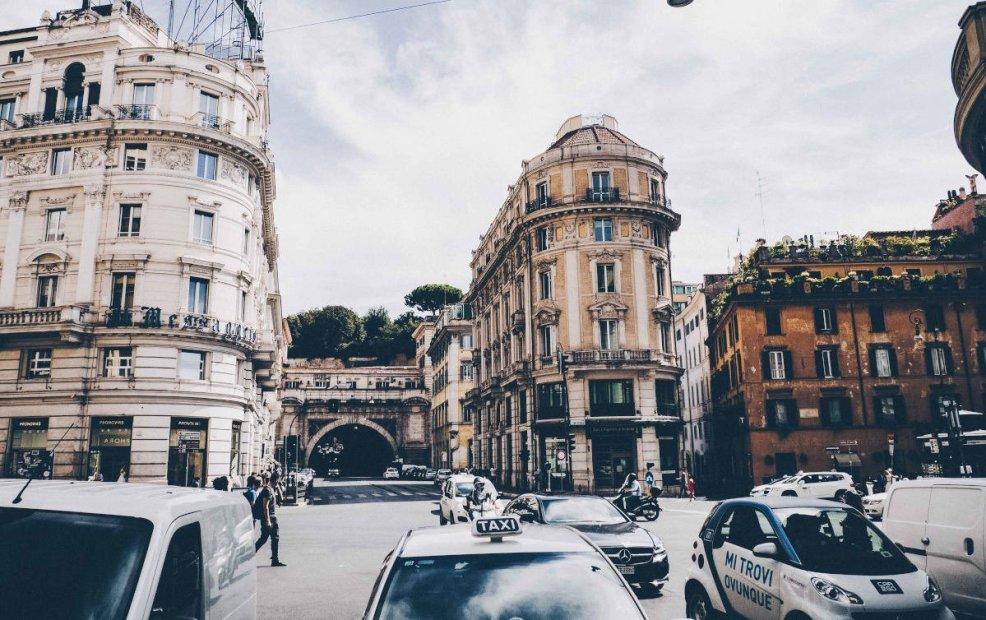 Como moverse en Roma