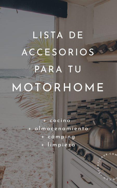 accesorios para motorhome