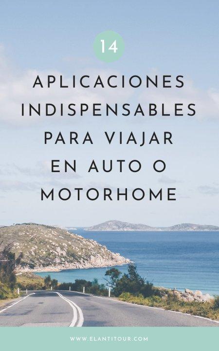 aplicaciones para viajar en auto o motorhome