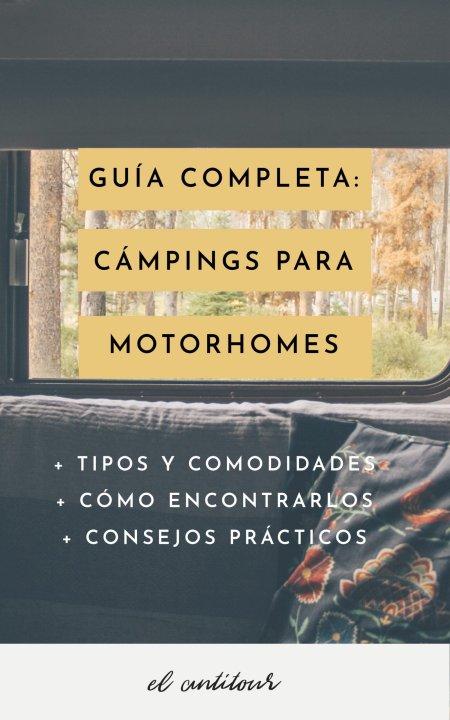 campings para motorhomes