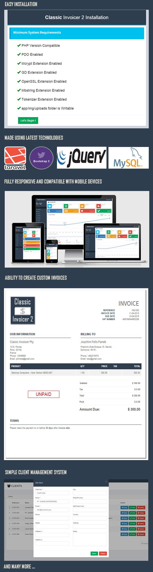 Classic Invoicer - 3