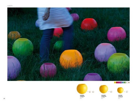 Y velas grandes de colores para disfrutar del jardin en verano, o montarte una noche especial en la playa con los amig@s .
