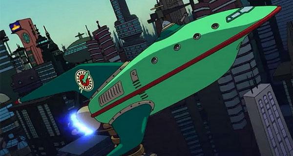 FUTURAMA - 12 naves icónicas de la Ciencia Ficción, I