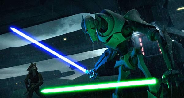 GRIEVOUS1 - Star Wars, Clone Wars: Villanos del lado Oscuro
