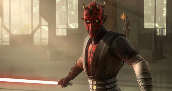 MAUL1 - Star Wars, Clone Wars: Villanos del lado Oscuro