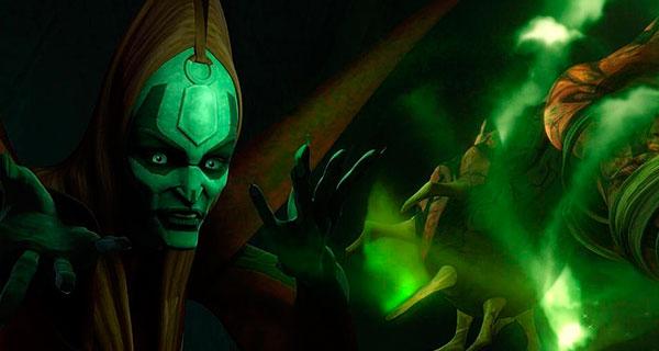 TALZIN1 - Star Wars, Clone Wars: Villanos del lado Oscuro