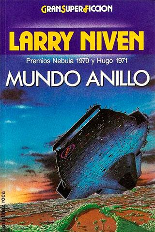MUNDOPORTADA - CF clásica I. Mundo Anillo, Larry Niven