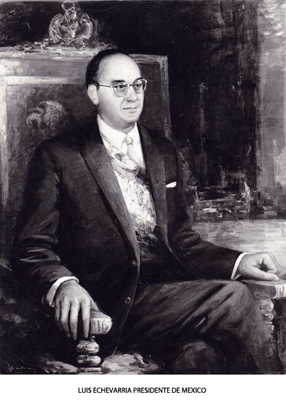 Pintor oficial del Presidente de Mxico II Galera  El