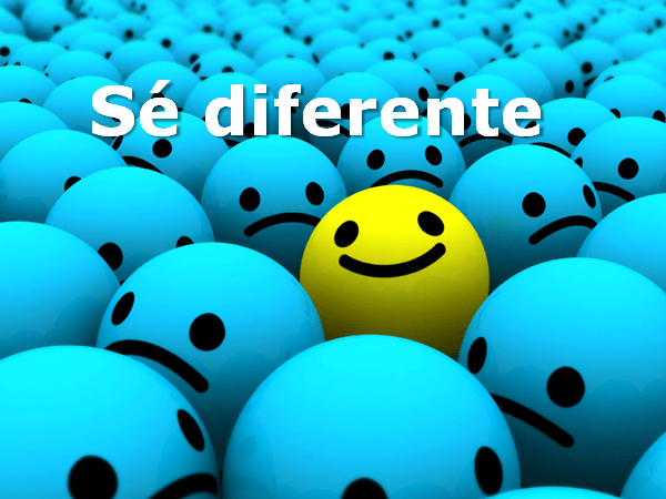 Atrévete a ser diferente
