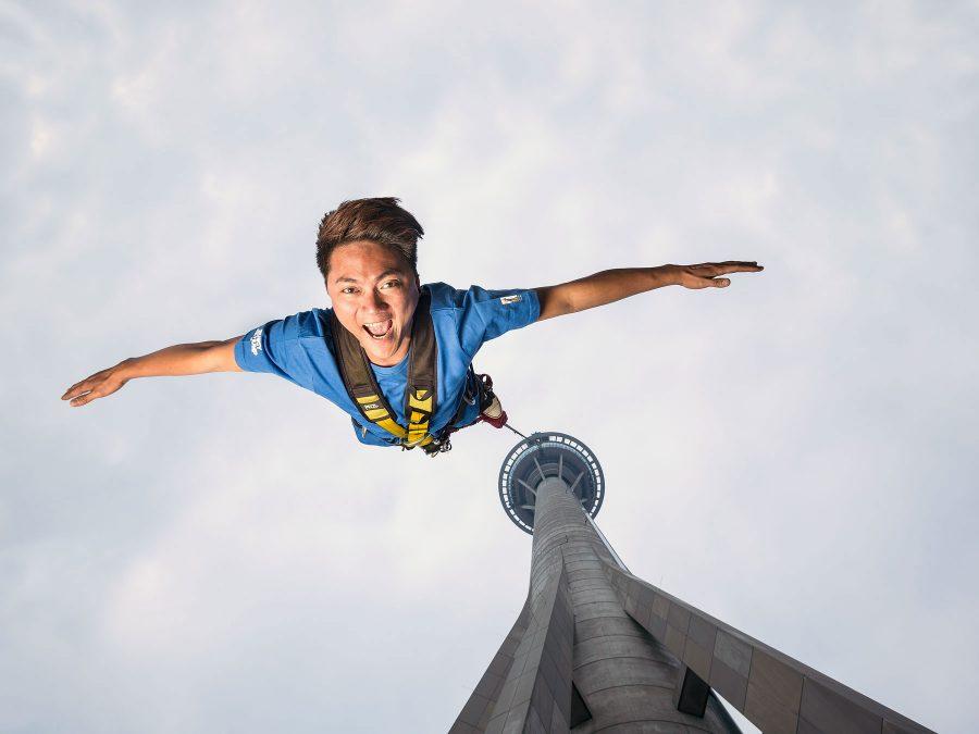 Salto desde la Torre Macao