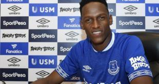 El Everton inglés recibe a Yerry Mina