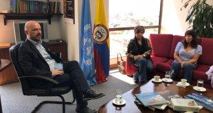 ONU-Derechos Humanos vigila ejercicio de libertad de expresión y protección de periodistas en Colombia.