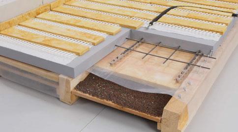 Elascon Schalldämmung Holzbalkendecke Altbau