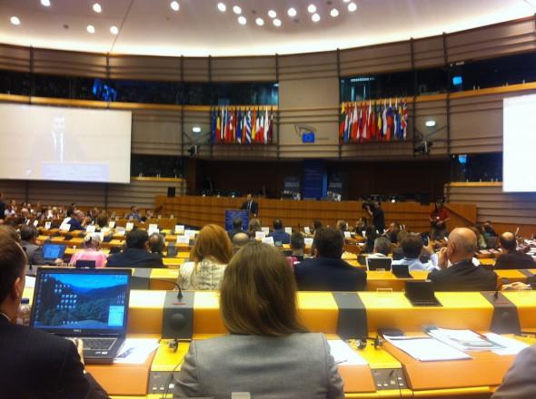 Sesión en el Parlamento Europeo. Foto: Martín Álvarez-Espinar / Flickr Creative Commons.