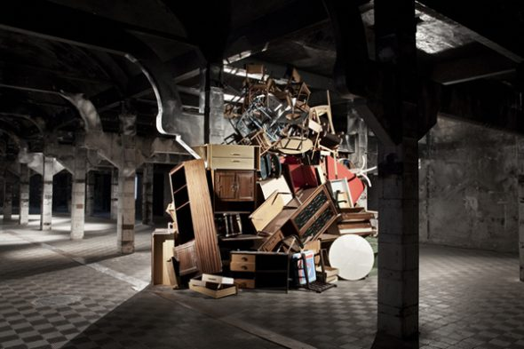 'Pila de muebles' de