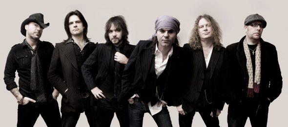 La banda británica The Quireboys.