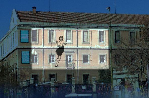 Imagen de La ciudad invisible, proyecto del pintor Javier de Juan.