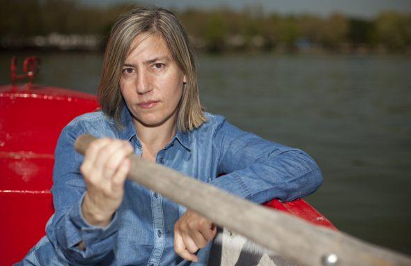 La escritora y guionista Lea Vélez. Foto: Asís Ayerbe.