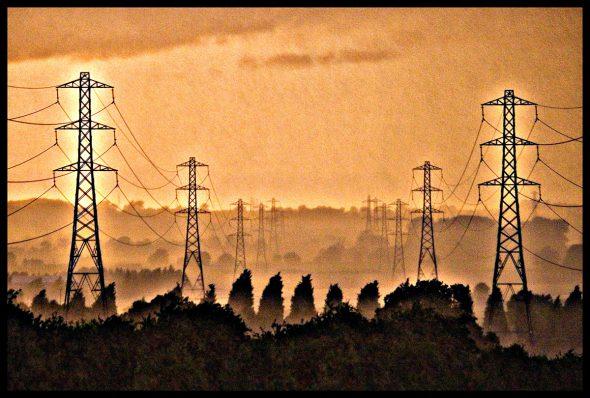 Torres de alta tensión. Foto: Warloofer / Flickr Creative Commons.