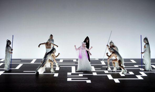 Un momento de la representación de 'El público' en el Teatro Real. Foto: Javier del Real.