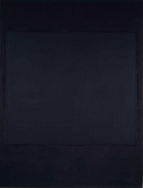 Mark Rothko (1903–1970); No. 1; 1964. Kunstmuseum Basel.