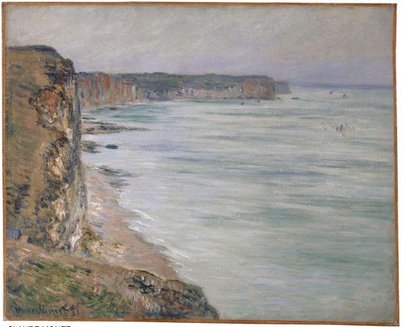 Claude Monet (1840–1926); Temps calme, Fécamp; 1881. Colección Rudolf Staechelin. Kunstmuseum Basel.
