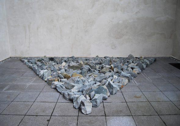 Richard Long. Münsterland Stones, 2008.