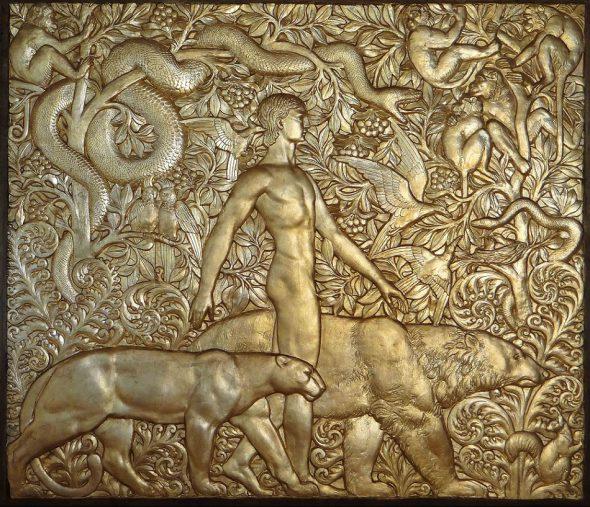 RAYMOND DELAMARRE. Mowgli 1927